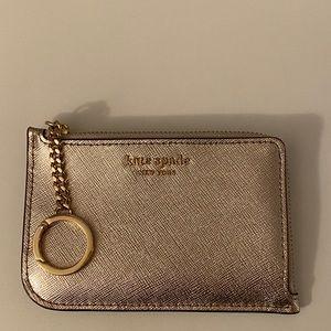 Kate Spade medium l zip card holder